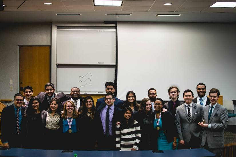UMBC Mock Trial finishes successful fall season