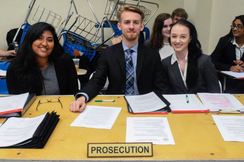 UMBC Mock Trial concludes strong fall season